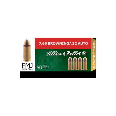 Střelivo 7,65 Browning