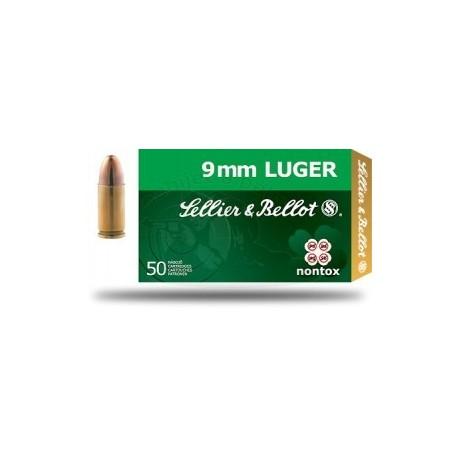 Střelivo 9 mm LUGER NONTOX / 9 mm PARA NONTOX / 9 × 19