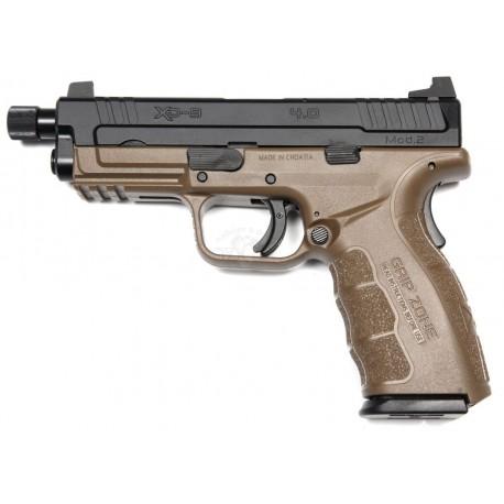 "PISTOLE HS PRODUKT XD 9 Mod. 2 service model 4"" TB 9mm BROWN"